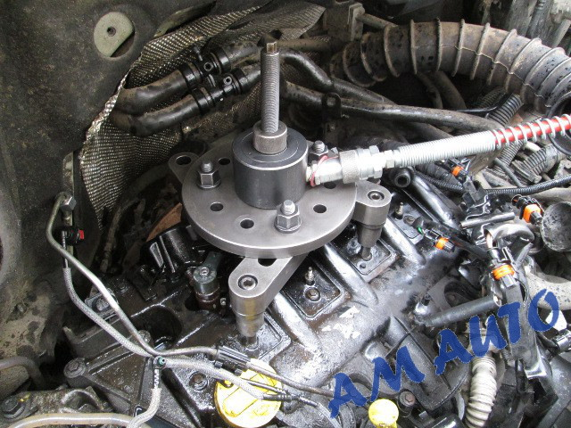 Vivaro 2 5 Injector Removal On Cadillac