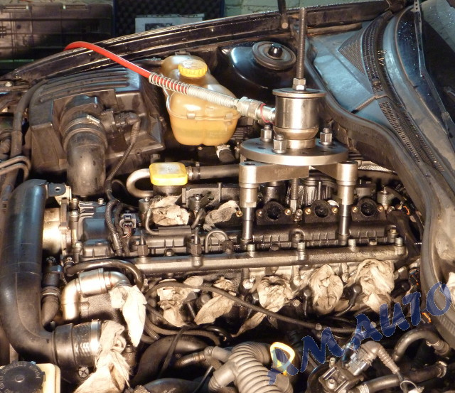Injector removal from Vauxhall Omega 2.5                       dti / BMW 525